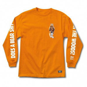 Bilde av Longsleeve - Grizzly Griptape Upper Decker / Orange