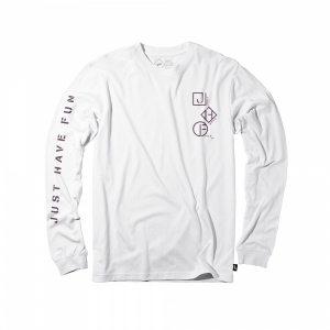 Bilde av Longsleeve - Just Have Fun Coastline / White