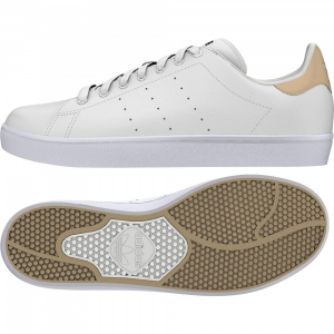 Bilde av Sko - adidas STAN SMITH VULC White / Pale Nude