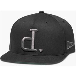 Bilde av Caps - Diamond Un-Polo Snapback Black