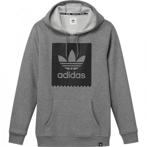 Bilde av Hettegenser - adidas BLACKBIRD Basic / Core Heather / Black