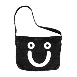 Bilde av Bag - Polar Happy Sad Tooth Bag / Black