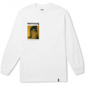 Bilde av Longsleeve - HUF x PENTHOUSE May 1981 Pocket / White