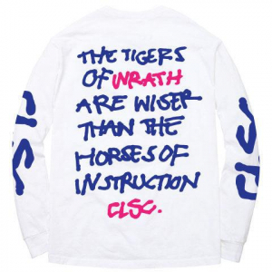 Bilde av Longsleeve - CLSC New Breed / White