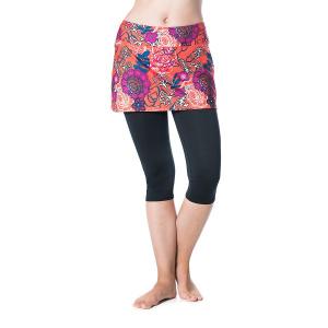 Bilde av Lotta Breeze Capri Skirt Black/Frolic Print