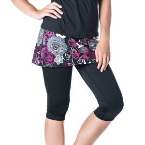 Bilde av Lotta Breeze Capri Skirt Enchanted Print/Black