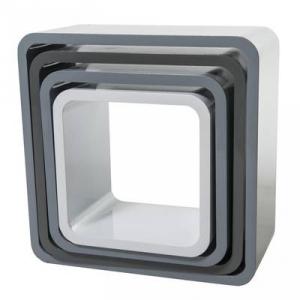 Bilde av Sebra, kvadrat bokhyller,