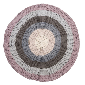 Bilde av Sebra, heklet teppe pastel