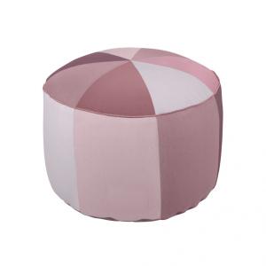 Bilde av Sebra, puff rosa/lillatoner