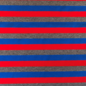 Bilde av Jersey print - Stripes Red/blue