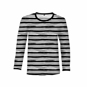 Bilde av Paapii design - Shirt Lines, Black & White