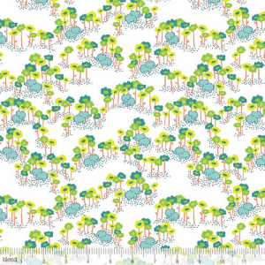 Bilde av Blend Fabrics - Sundaland jungle blue