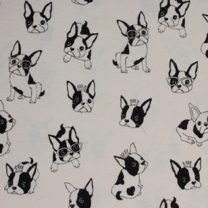 Bilde av Kokka interlock - French Bulldog offwhite