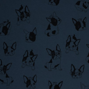 Bilde av Kokka interlock - French Bulldog dark blue