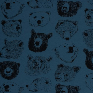 Bilde av Kokka interlock - Bears petrol blue