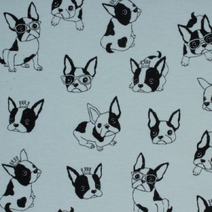 Bilde av Kokka interlock - French Bulldog light blue