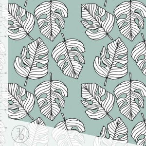 Bilde av Elvelyckan - Monstera Dusty Mint
