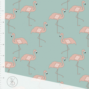 Bilde av Elvelyckan - Flamingo Dusty Mint