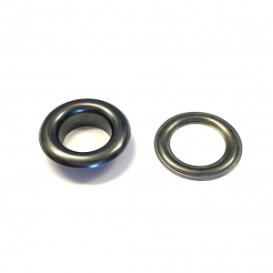 Bilde av KAM Maljer str 16/9,5 mm - 50 pk (col: black nickle)