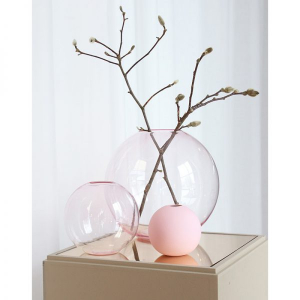 Bilde av Cooee Ball vase glass pink 15