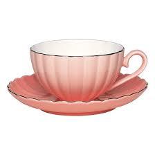 Bilde av Pastel pink teacup with