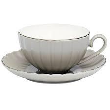 Bilde av Pastel warm grey teacup with