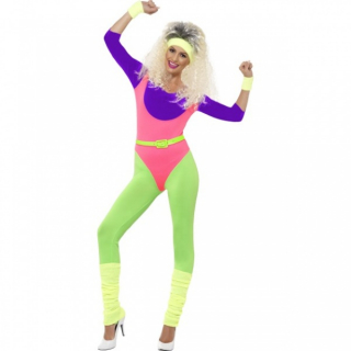 Work Out 80`s Jumpsuit