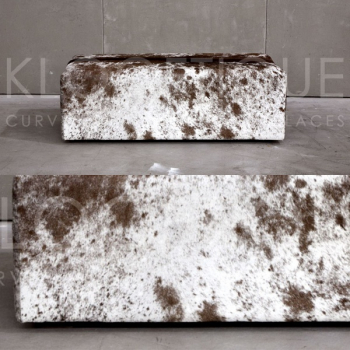 Rectangular ottoman vi nguni full hide homeliving - Cactus toni moreno ...