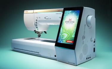 Janome MemoryCraft 15000 Horizon INKLUDERT broderienhet