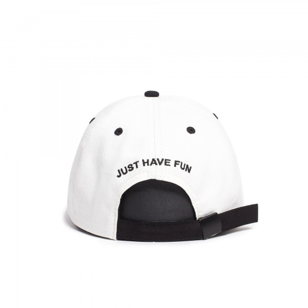 Caps - Just Have Fun Toned Out Dad Hat / White