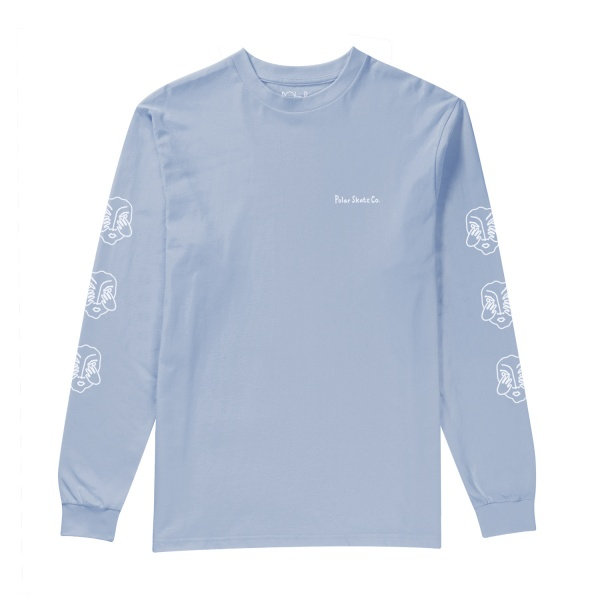Longsleeve - Polar Three Faces / Power Blue