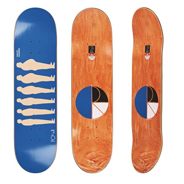 Skateboard - Polar 8.375 Hjalte Halberg Am To Pro Blue
