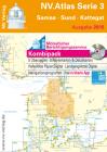 NV. Atlas serie 3 - Båtsportkart:  Samsö, Øresund og Kattegat